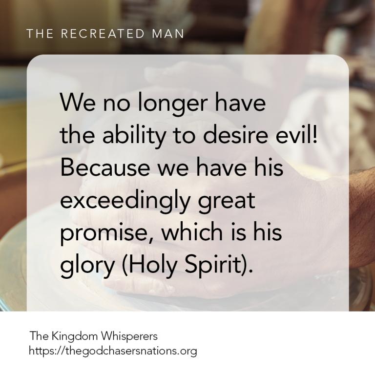The Recreated Man