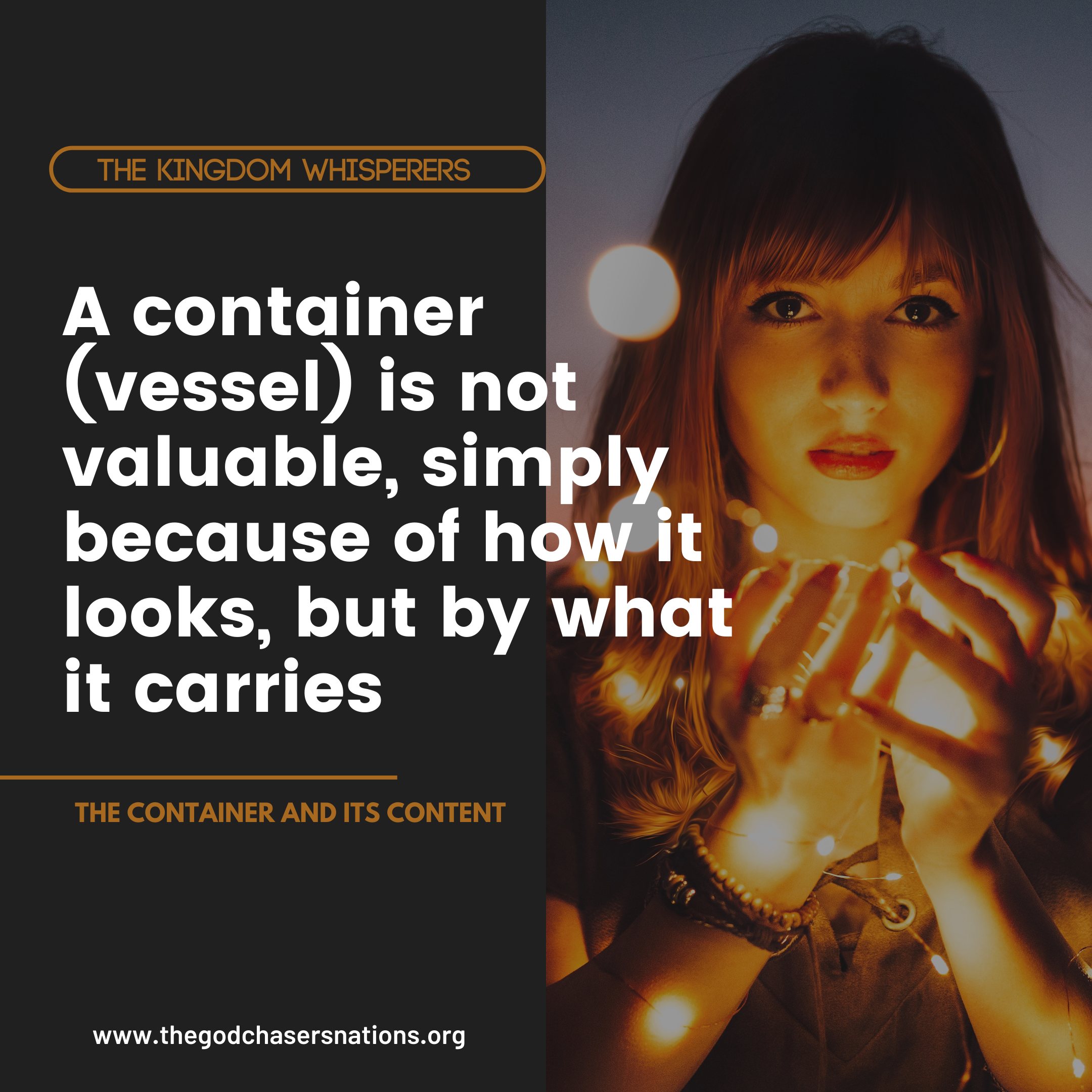 THE CONTAINER AND ITS CONTENT