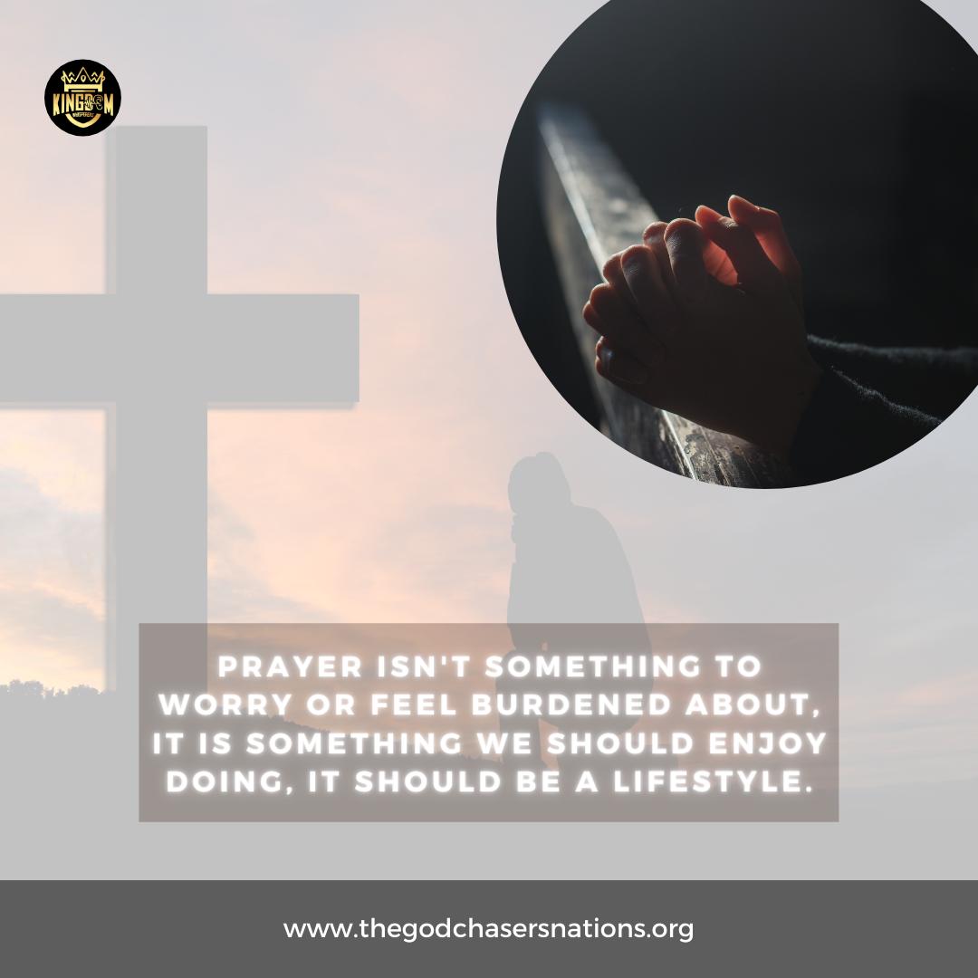 Engage In Prayer