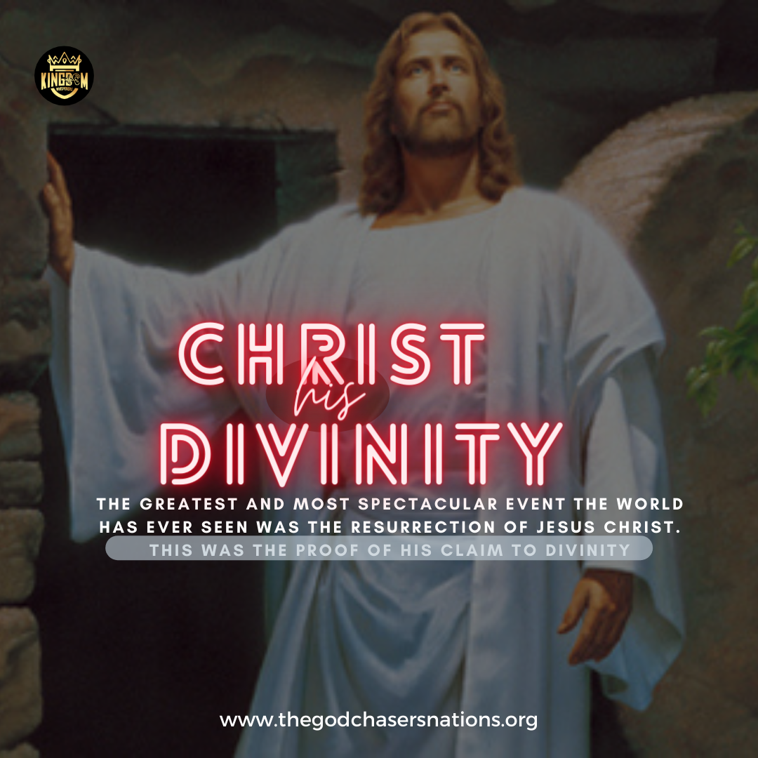 Christ His Divinity