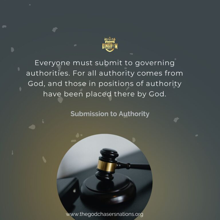 Submission To Authority