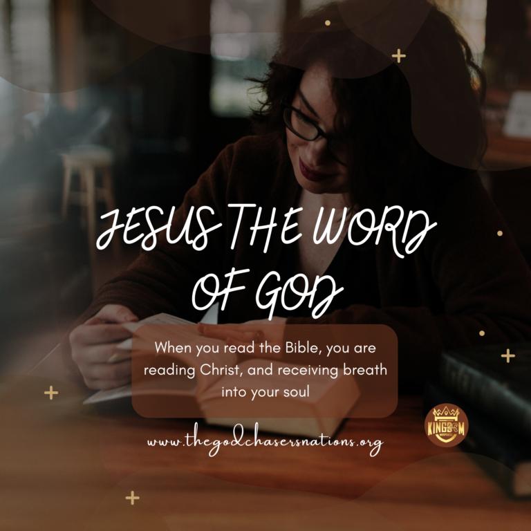 Jesus the Word of God